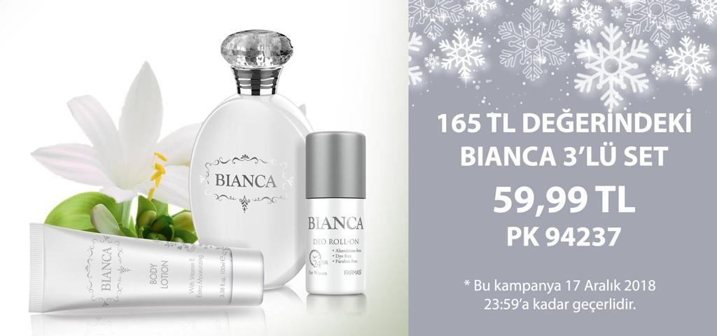 farmasi bianca 3lu set parfüm